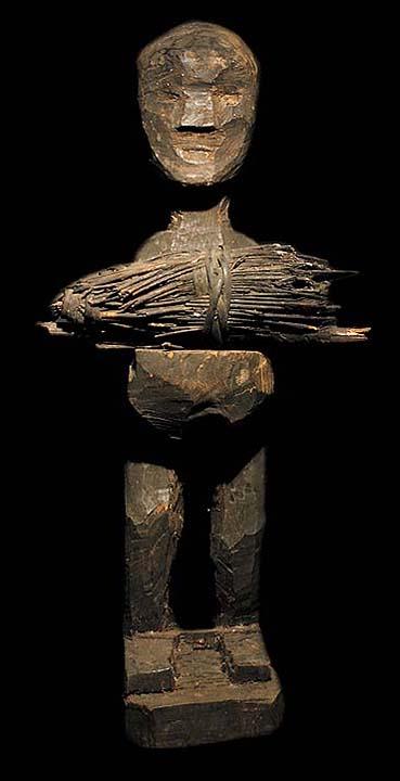 Ifugao Bulul Rice God Statue David Howard Tribal Art