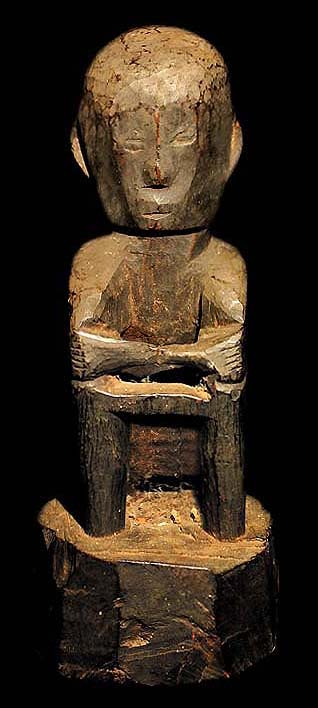 Ifugao Bulul Rice God Statue David Howard Tribal Art