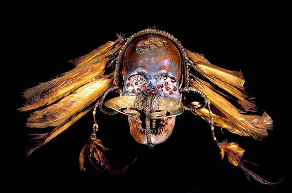 Tribal Human Skull