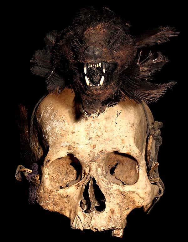 Human Head Trophy