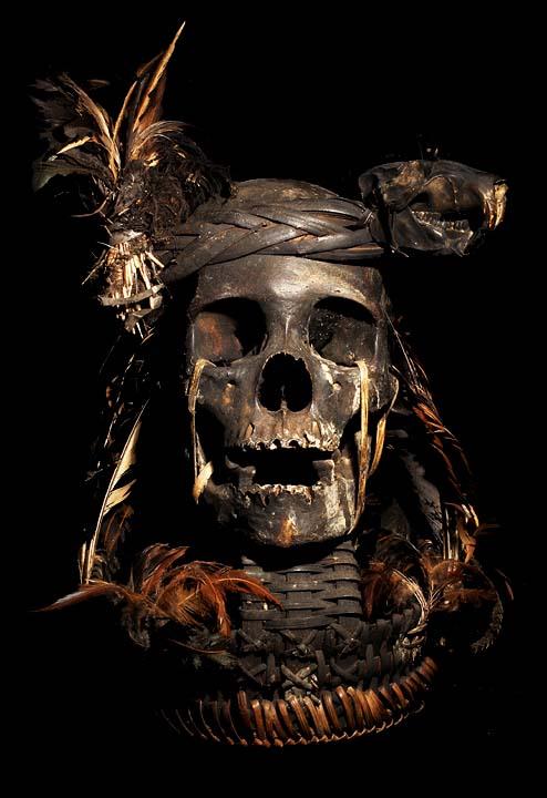 Skull Hat Band Basket Animal Skull Head Band