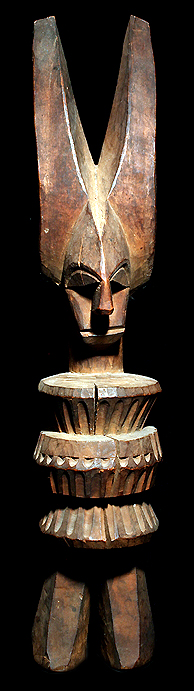 IKENGA IGBO STATUE DAVID HOWARD TRIBAL ART
