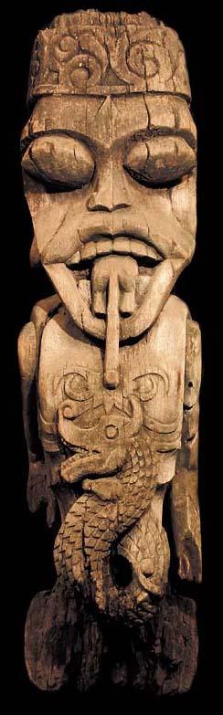 Dayak Bahau Borneo Statue Tribal Art David Howard Dayak