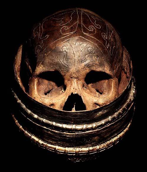 Human Trophy Skull