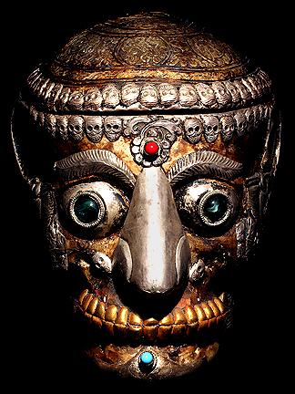 KAPALA human skull caps tantric buddhist human skulls DAVID